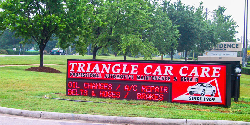triangle car care